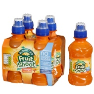 Robinsons Fruit Shoot Orange 4 x 200ml