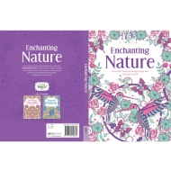 Adult Colouring Book - Enchanting Nature