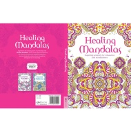 Adult Colouring Book - Healing Mandalas