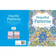 Adult Colouring Book - Peaceful Patterns