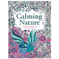 Adult Colouring Book - Calming Nature