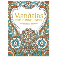 Adult Colouring Book - Mandalas for Mindfulness