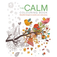 Adult Colouring Book - Calm