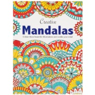 Creative Mandalas Adult Colouring Book