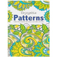 Enjoyable Patterns Adult Colouring Book