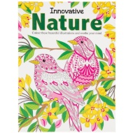 Innovative Nature Adult Colouring Book
