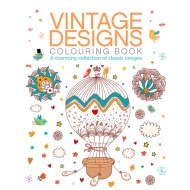 Adult Colouring Book - Vintage Designs