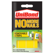 UniBond No More Nails - Removable Strips