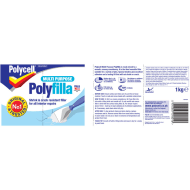 Polycell Multipurpose Polyfilla 1kg