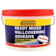 Bartoline Ready Mixed Wallcovering Adhesive 2.5kg