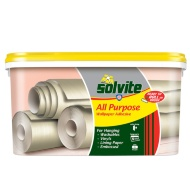Solvite Ready to Roll Wallpaper Adhesive 5 Roll Pack