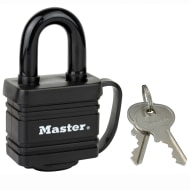 Master Lock Weatherproof Black Padlock 40mm