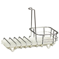 Premium Multi-Use Sink Caddy - White
