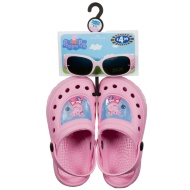 Peppa Pig Kids Clogs & Sunglasses Set