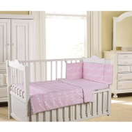 Reversible Baby Bedding Bundle 3pc