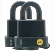 Yale Padlock with Proof 2pk