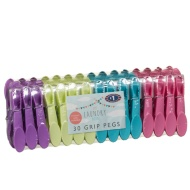 Grip Clothes Pegs 30pk