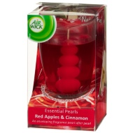Air Wick Essential Pearls Candle - Red Apple & Cinnamon