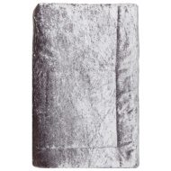 8dca050756 Crushed Velvet Throw - Silver