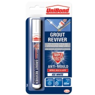 UniBond Triple Protect Grout Pen - White 7ml