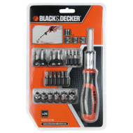 Black & Decker Ratcheting Multibit Screwdriver Set 29pc