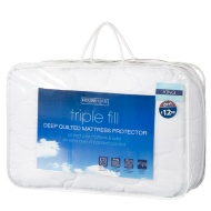 Triple Fill Mattress Protector - King