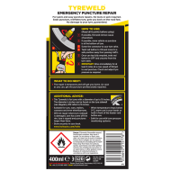 Holts Tyreweld Emergency Puncture Repair 400ml