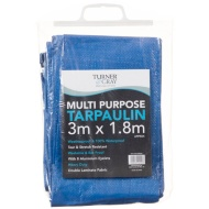 Turner & Gray Multi-Purpose Tarpaulin 3 x 1.8m