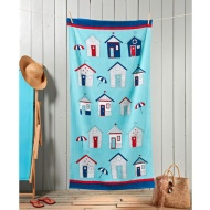 Fashion Slogan Beach Towel - Beach Hut