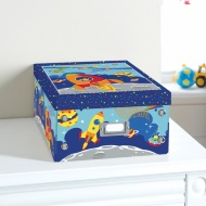 Kids Paper Storage Box Large - Space