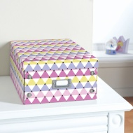 Kids Paper Storage Box Large - Triangle