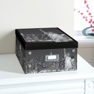 City Paper Storage Box Large - New York City