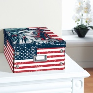 City Paper Storage Box Large - Stars & Stripes