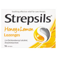 Strepsils Honey & Lemon Lozenges 16pk