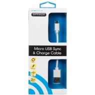 Optimum Micro USB Sync & Charge Cable 2m
