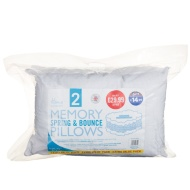 Home Comforts Memory Pillows 2pk