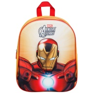 3D Marvel School Backpack - Iron Man