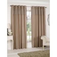Pleated Top Border Fully Lined Curtain 66 x 72