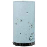 Lila Cutout Diamante Table Lamp - Blue