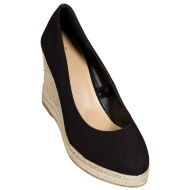 Ladies Full Wedge Shoes - Black