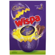 Cadbury Wispa Large Easter Egg 249g