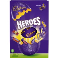 Cadbury Heroes Large Easter Egg 254g