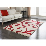 Traditional Scroll Rug - Red 110 x 160cm