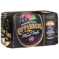 Kopparberg Mixed Fruit Cider 6 x 330ml