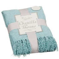 Woven Chenille Throw