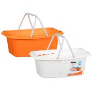 Beldray Plastic Laundry Basket 2pk