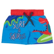 Kids Surf Shorts - Surf a Saurus