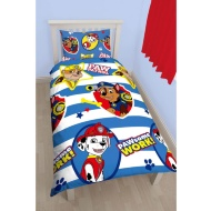 Paw Patrol Single Duvet Set - Pawsome Work
