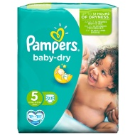 Pampers Junior Nappies Carry Pack 23pk - Size 5