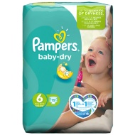 Pampers Extra Large Nappies Carry Pack 19pk - Size 6